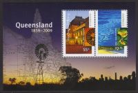 Australia 2009 Queensland Souvenir Sheet unmounted mint